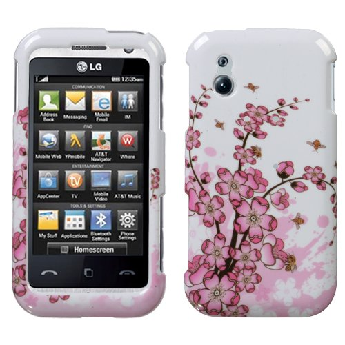 Spring Flowers Phone Protector Cover for LG GT950 (Lg Opera Tv)