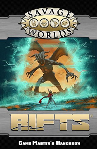Savage Worlds  Rifts   Game Masters Handbook  Softback  S2p11201