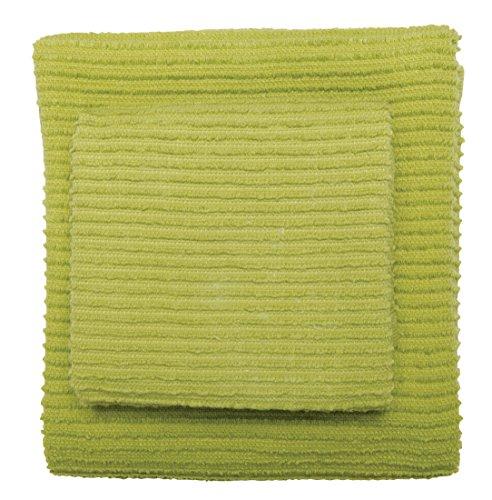 (Now Designs Ripple Kitchen Towel, Leaf)