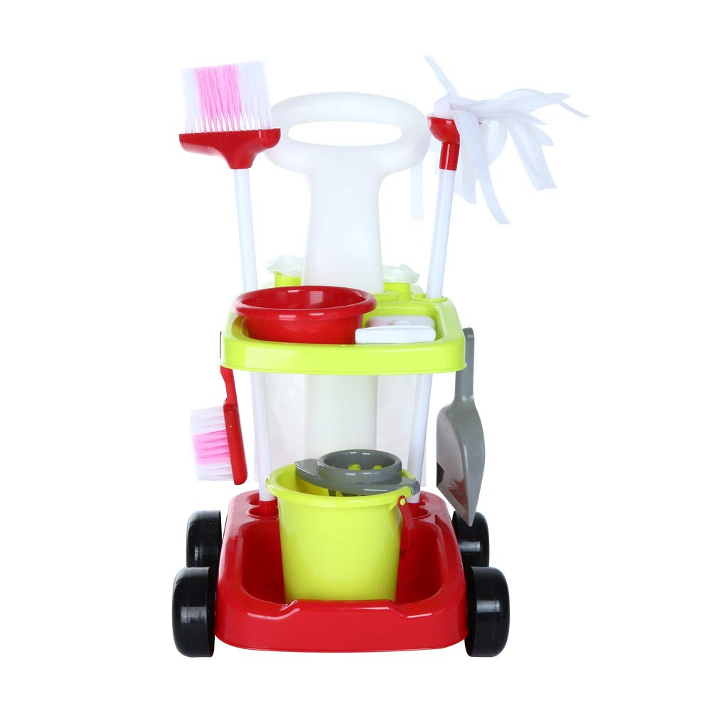 ASfairy Childrens Cleaning Set- Broom, Mini Sweeper, Toy Cleaning Supplies That Work! by ASfairy-Toy (Image #3)