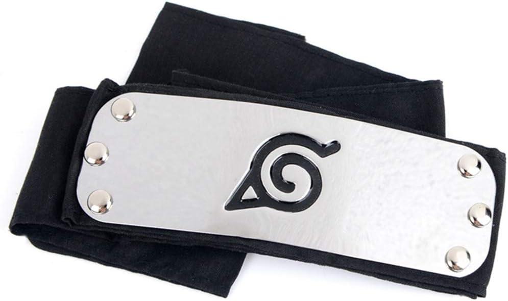 Fascia per Capelli con Logo Shinobi Shippuden Ninja Cosplay redCherry Naruto Leaf Village