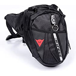 Pakdeevong shop free shipping 2017 new waist Bag Waterproof Nylon Travel Bag Men Black Drop Leg bag Motorcycle Fanny Pack Waist Belt Bag