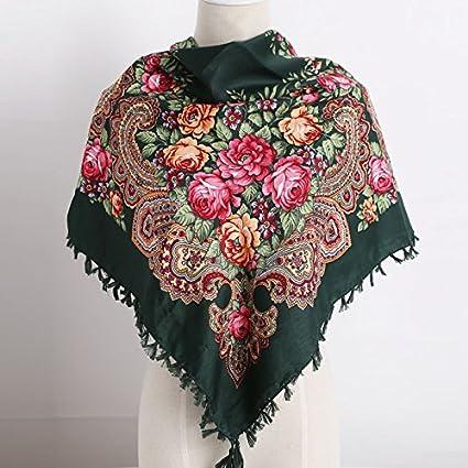 35c487929f7 New Russia new hot sell Wquare Fashion decorative Scarf handmade ...