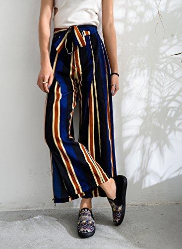 Mila Dame Cornelia Vrouwen Canvas Slip Op Tribale Patroon Mode Sneakers, Zwart / Bk