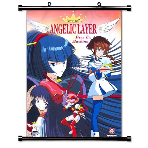 Angelic Layer Anime Fabric Wall Scroll Poster (16 x 21) Inches
