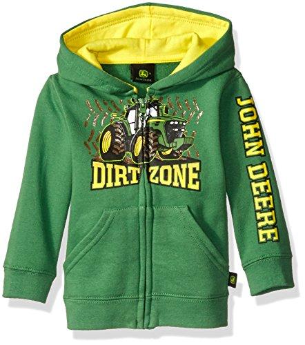 John Deere Boys' Dirt Zone Fleece, Green, 12 Months