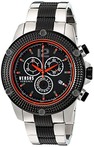 Versus-by-Versace-Mens-AVENTURA-Quartz-Stainless-Steel-Casual-Watch-ColorTwo-Tone-Model-SOC110015