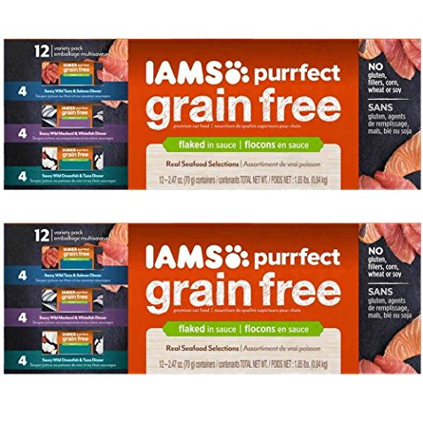 IAMS Purrfect Grain Free Adult Wet Cat Food )