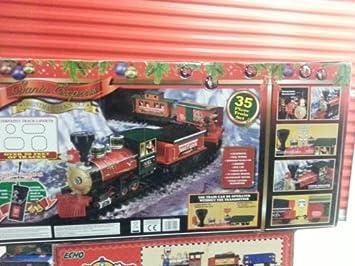Amazon.com: Holiday Santa Express Christmas Train Set, 35 PIECE ...