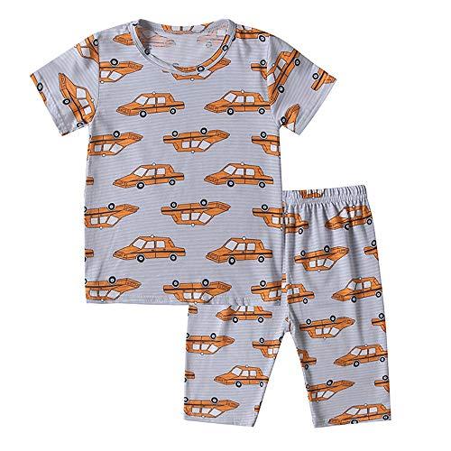 b673f3e5e686b (ビメイゴー) Bmeigo ルームウェア 男の子 パジャマ キッズ 子供服 部屋着 男児 半袖 綿