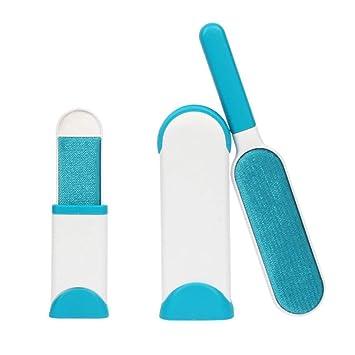 EUROXANTY-Cepillo quita-pelos reutilizable para Mascotas,limpieza de Sofás,Muebles,etc.Set 2 Cepillos(Diferente tamaño)