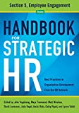 img - for Handbook for Strategic HR - Section 5: Employee Engagement book / textbook / text book