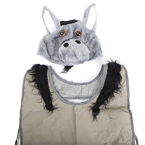 Donkey Costume Vest Plush Hat Nativity
