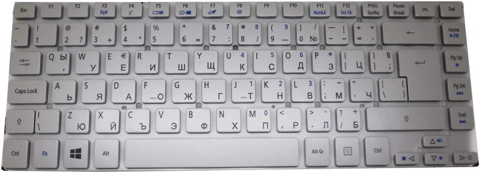 Laptop Keyboard for Acer Aspire V3-431 V3-471 V3-471G V121646CK4 BG AEZQS101110 NK.I141S.01J Bulgaria BG Silver NO Frame