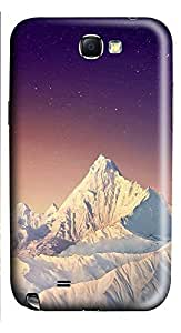 Samsung Note 2 Case landscapes nature snow mountain26 3D Custom Samsung Note 2 Case Cover