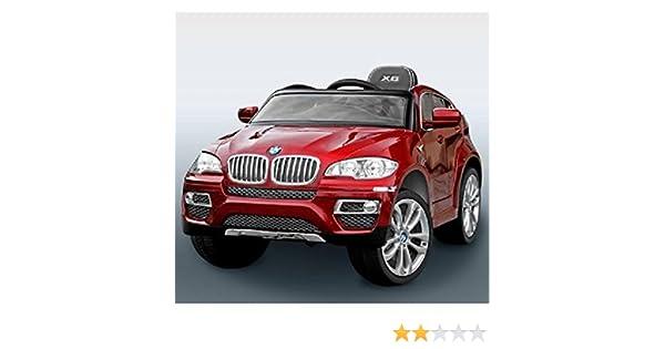 Coche eléctrico BMW X6 con control remoto 2,4 GHZ, pintado metalizado, 12 voltios MODELO 2017: Amazon.es: Bebé