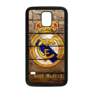 Sport Real Madrid Club de Futbol Cristiano Ronaldo Print Black Case With Hard Shell Cover for SamSung Galaxy S5 Case -JUST do it ,CR7 Classic style 2