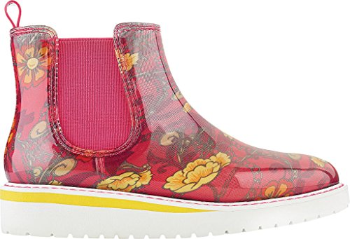 Cougar Kvinna Kensington Regn Boot Folk Print