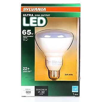 Sylvania Ultra 11 Watt 65w Equivalent 2 700k Br30 Medium Base E 26 Soft White Dimmable