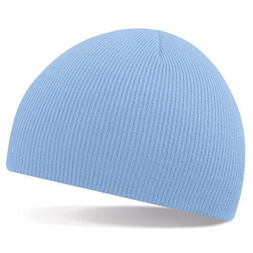 azul ShirtInStyle moda de marino tejido Gorro gorro invierno One de Size gorro Sky lana de rwqYrav