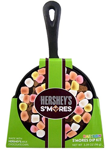 Hershey's Rainbow S'mores Dip Kit with Cast Iron Skillet