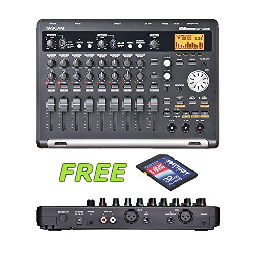 Tascam DP-03SD Digital Portastudio with a Free Patriot 32GB SD Card