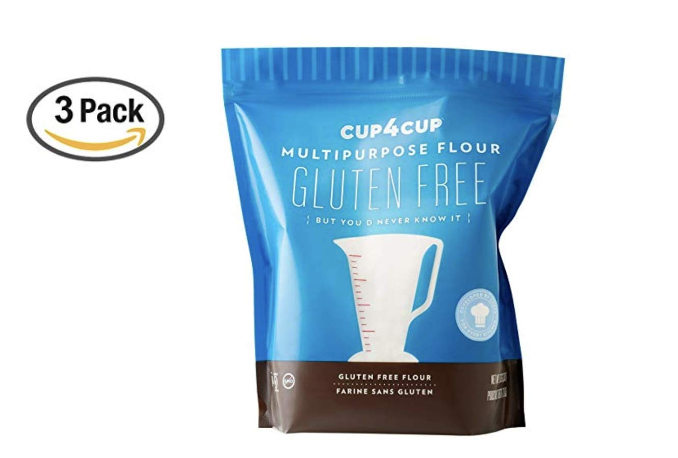 Cup4Cup Gluten Free Flour, 3 lb (3 Pound (3 Pack))