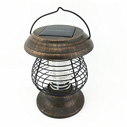 Solar Powered UV Bug Zapper, Insect Killer & LED Garden Lamp ,Mosquito Killer & camping light
