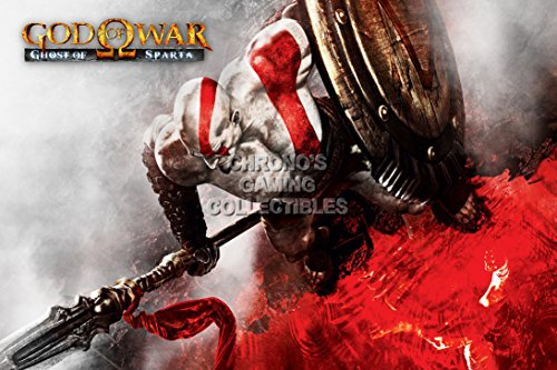 God of War CGC Huge Poster Glossy Finish Ghost of Sparta Kratos Sony PS2 PS3 PS4 PSP Vita - GOW016 (24