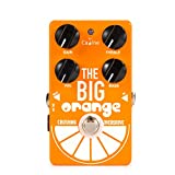 Caline CP-54 Crushing Overdrive Guitar Effect Pedal, 9V DC The Big Orange Engineering Pedals Tuner for Guitar and Bass, True Bypass