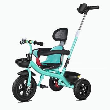 Amazon.com: Axdwfd Kids Tricycle – Cortador de bebé con asa ...