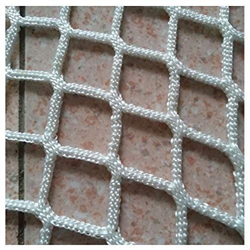 HWJ Safety Decor Net,Railings Stairs Kids Protective Netting Balcony Decoration Net Safety Protection Fence Climbing Woven Rope Truck Cargo Trailer,for Playground Children Ceiling Indoor Outdoor,1.2