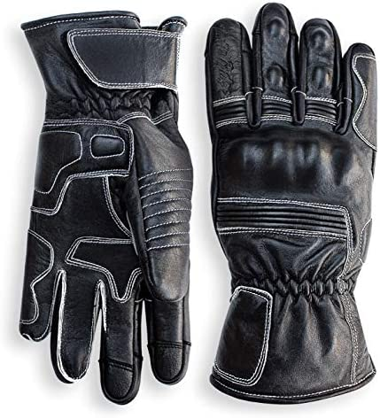 Pre Weathered Motorcycle Comfortable Protection Gauntlet product image