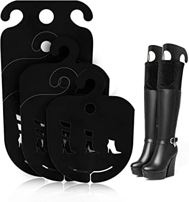 3 Pairs White Inflatable Shoes Stretcher Knee Calf Boots Shaper