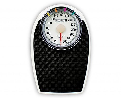 Cardinal/Detecto Scale Personal Health Care Scale Kilos. 140 Kg. Wt Cap, 9 Pound Global Supply Outlet D1130