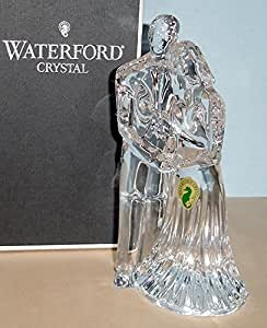 waterford crystal wedding cake topper waterford amp groom wedding cake topper 21672