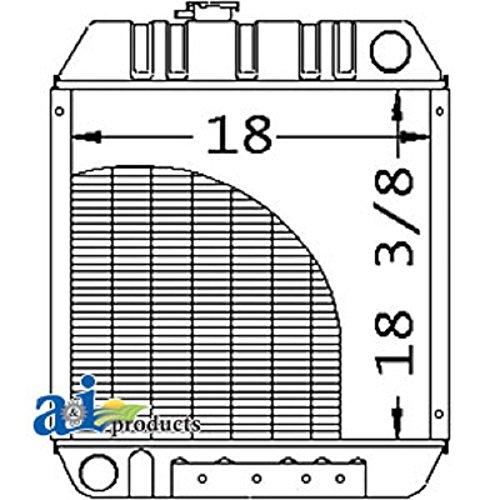 A-86563887 Ford New Holland Parts Radiator LS140 ; LS150 ; LX465 ; LX485 ; LX565 ; LX665 ; L4