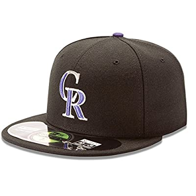 New Era 59Fifty MLB Colorado Rockies Home On Field Fitted Hat