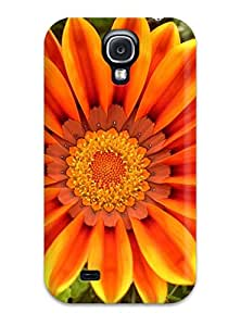 New Fashion Premium Tpu Case Cover For Galaxy S4 - Lovely Flowers Sending Screen Protector in Free