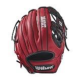 Best Wilson Sporting Goods Baseball Gloves - Wilson Bandit 1786 Pedroia Fit Baseball Glove, 11.5
