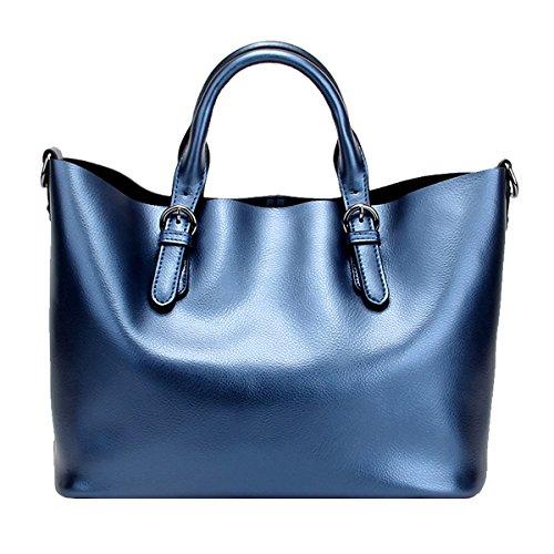 main en Girl portés Sac fashion LF E Sac Sac cuir 8683 femme portés Bleu main épaule à Zq0tdP