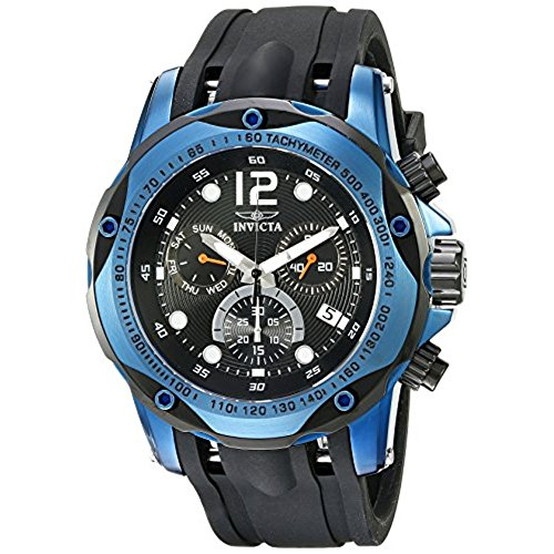 Invicta Speedway Swiss Chrono Watch - Invicta Men's 20074SYB Speedway Analog Display Swiss Quartz Black Watch