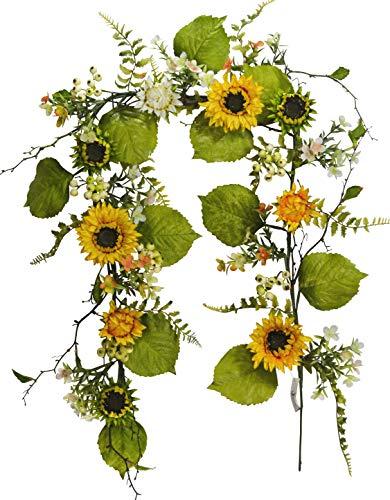 Sunflower Swag - V-Max Floral Decor 72