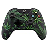 eXtremeRate Hydro Dipped Front Housing Shell Faceplate Cover Replacement Parts for Standard Xbox One Controller (Fits Both with 3.5mm Jack and without 3.5 mm Jack) (Green Weeds) Review