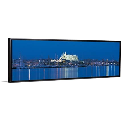 Amazon.com: Floating Frame Premium Canvas with Black Frame ...
