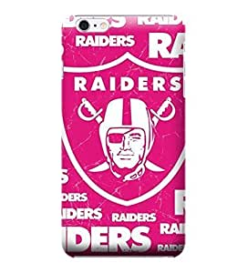 iPhone 6 Cases, NFL - Oakland Raiders Pink Blast - iPhone 6 Cases - High Quality PC Case by ruishername