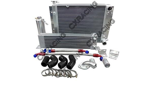Amazon.com: CXRacing Oil Cooler Radiator Hard Pipe Kit For Mazda RX7 RX-7 SA FA FB 13B Black Hose: Automotive