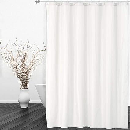 Amazoncom Caromio Shower Curtain Liner Ultimate Total Waterproof