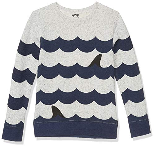 Appaman Kids Boy's Striped Crew Neck - Suns Out, Fins Out (Toddler/Little Kids/Big Kids)