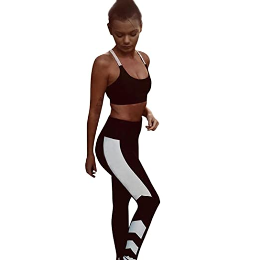 Yoga Sports Leggings mujer, Leggings de entrenamiento de ...